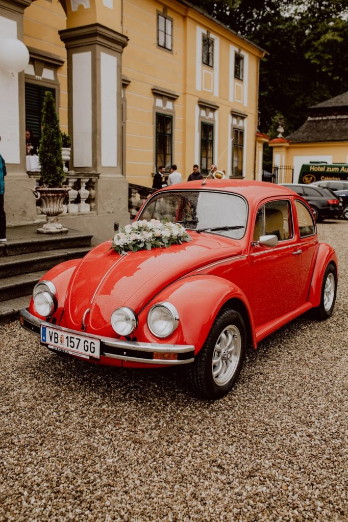 Hochzeitsauto-Stilechtes