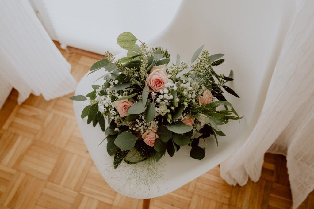 Brautstrauß-Stilechtes